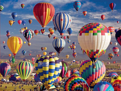 Пазлы онлайн. Картинка №1001: Воздушный марафон . Размер картинки: 640х480