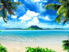 Пазлы онлайн. Картинка №152: Океанская гладь . Размер картинки: 640х480