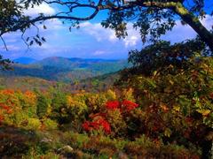 Пазлы онлайн. Картинка №229: Осенняя долина . Размер картинки: 640х480