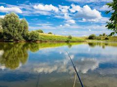 Пазлы онлайн. Картинка №733: На рыбалке . Размер картинки: 640х480
