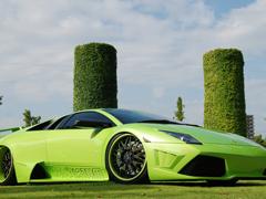 Пазлы онлайн. Картинка №744: Зеленая скорость . Размер картинки: 640х480