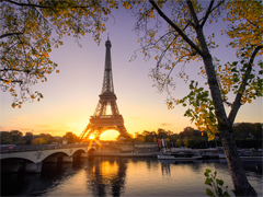 Пазлы онлайн. Картинка №860: Французский бульвар . Размер картинки: 640х480