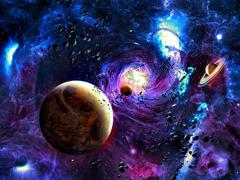 Пазлы онлайн. Картинка №902: Космический вихрь . Размер картинки: 640х480