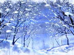 Пазлы онлайн. Картинка №906: Дыхание зимы . Размер картинки: 640х480