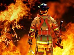 Пазлы онлайн. Картинка №907: Повелитель огня . Размер картинки: 640х480