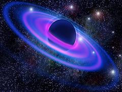 Пазлы онлайн. Картинка №954: Неоновый Сатурн . Размер картинки: 640х480