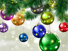 Пазлы онлайн. Картинка №977: Новогоднее настроение . Размер картинки: 640х480