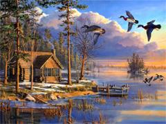 Пазлы онлайн. Картинка №989: В ожидании весны . Размер картинки: 640х480