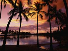 Пазлы онлайн. Картинка №2: Вечерний пляж . Размер картинки: 640х480