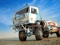 Пазлы онлайн. Картинка №216: Пустынный монстр . Размер картинки: 640х480
