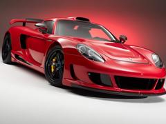 Пазлы онлайн. Картинка №290: Красный автокороль . Размер картинки: 640х480