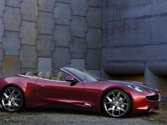 Пазлы онлайн. Картинка №440: Бордовый кабриолет . Размер картинки: 640х480