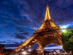 Пазлы онлайн. Картинка №565: Эйфелева башня . Размер картинки: 640х480