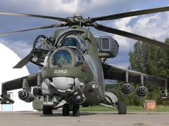 Пазлы онлайн. Картинка №588: Боевой вертолет . Размер картинки: 640х480