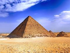 Пазлы онлайн. Картинка №699: Египетская пирамида . Размер картинки: 640х480