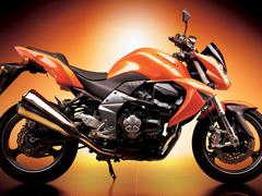 Пазлы онлайн. Картинка №771: Оранжевый мотоцикл . Размер картинки: 640х480