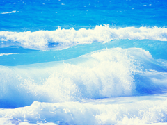 Пазлы онлайн. Картинка №797: Голубая волна . Размер картинки: 640х480