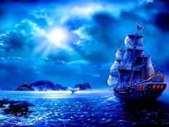 Пазлы онлайн. Картинка №874: Остров сокровищ . Размер картинки: 640х480