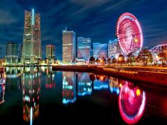 Пазлы онлайн. Картинка №877: Огни ночного Лондона . Размер картинки: 640х480